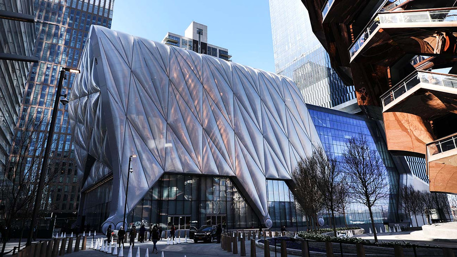 An exterior view of the soon to open new cultural space The Shed in Hudson Yards-Getty-H 2019