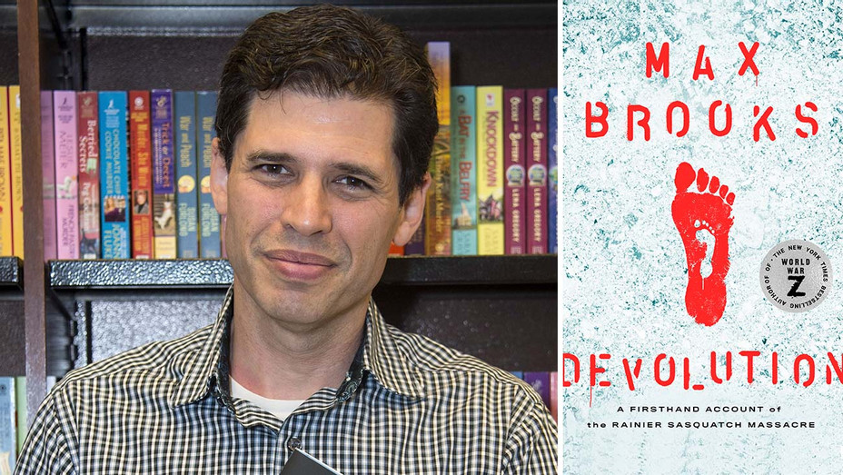 Max Brooks and Book Cover Devolution-H 2019