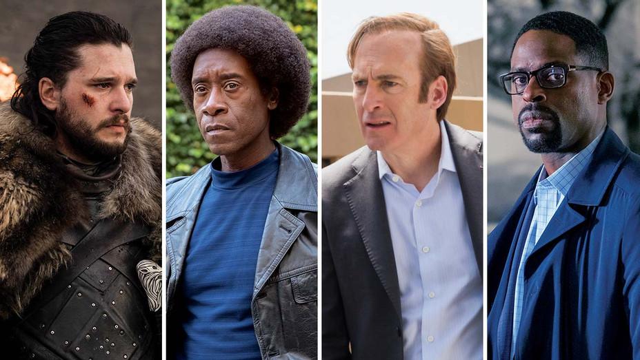 Actors-Kit Harington-Don Cheadle-Bob Odenkirk-Sterling K. Brown-Publicity Stills-Split-H 2019
