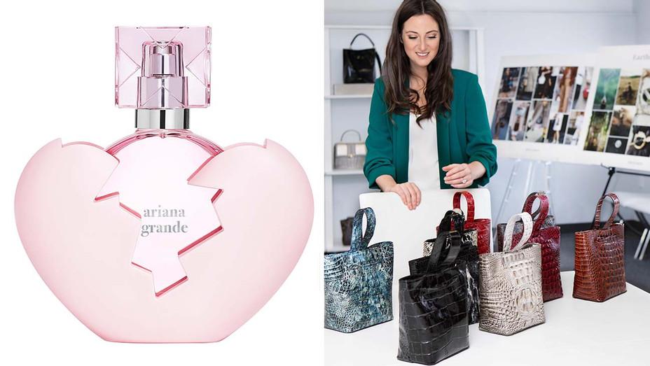 Ariana Grande perfume-Micaela-Brahmim-Publicity-Split-H 2019