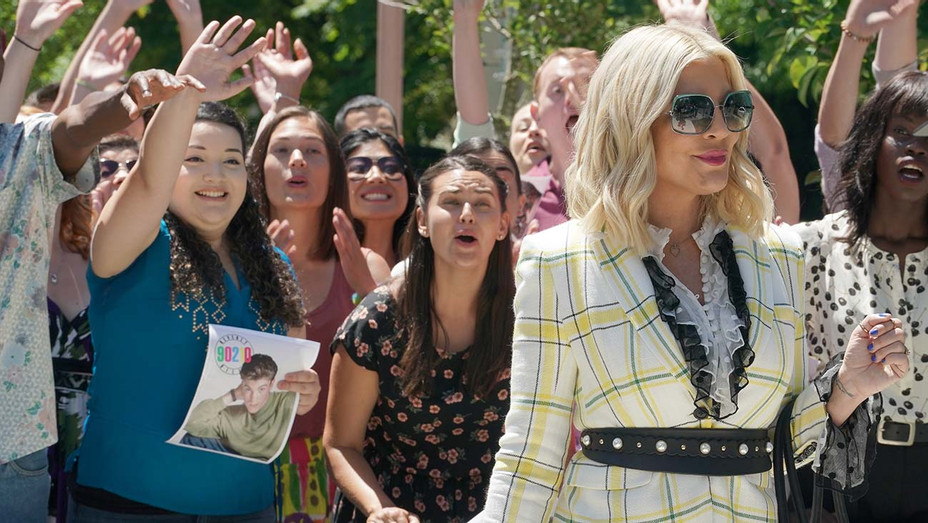 """BH90210 - Tori Spelling in the BH90210 """"Pitch"""" - Publicity-H 2019"""