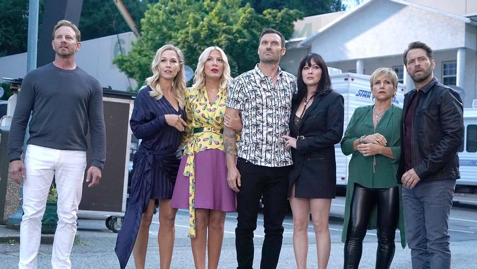 "BH90210 ""Table Read"" episode -FOX Publicity-H 2019"