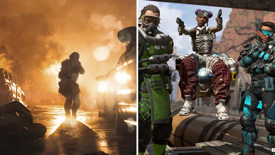 Call of Duty and Apex Legends- Split- Publicity - H 2019