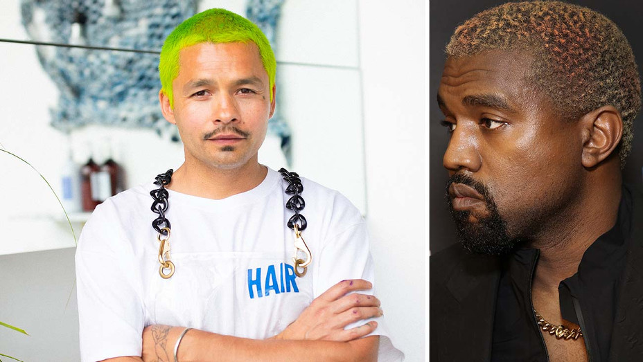 DANNY MOON - Classes With Kanye's Hair Colorist Split Kanye West-Getty-H 2019