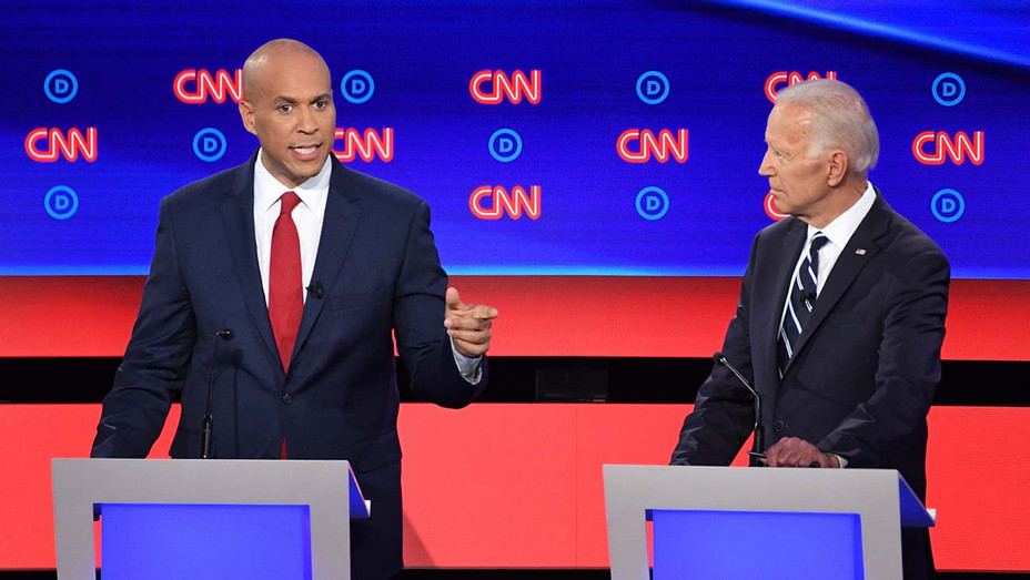 CNN Democratic Debate Round 2 Part 2_Cory Booker_Joe Biden - Getty - H 2019