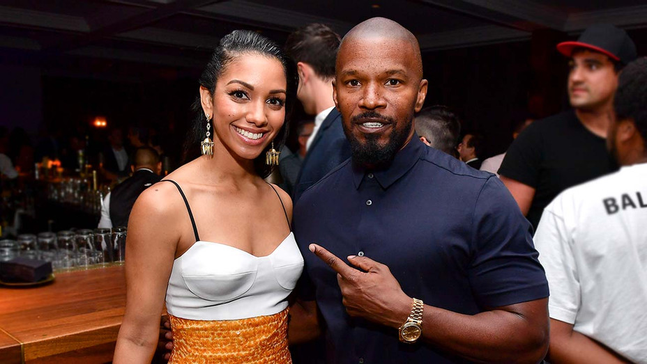 Corinne Foxx and Jamie Foxx-Getty-H 2019