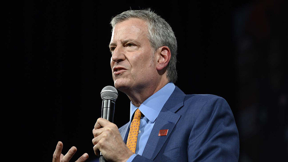 Democratic presidential candidate and New York City Mayor Bill de Blasio-Getty-H 2019