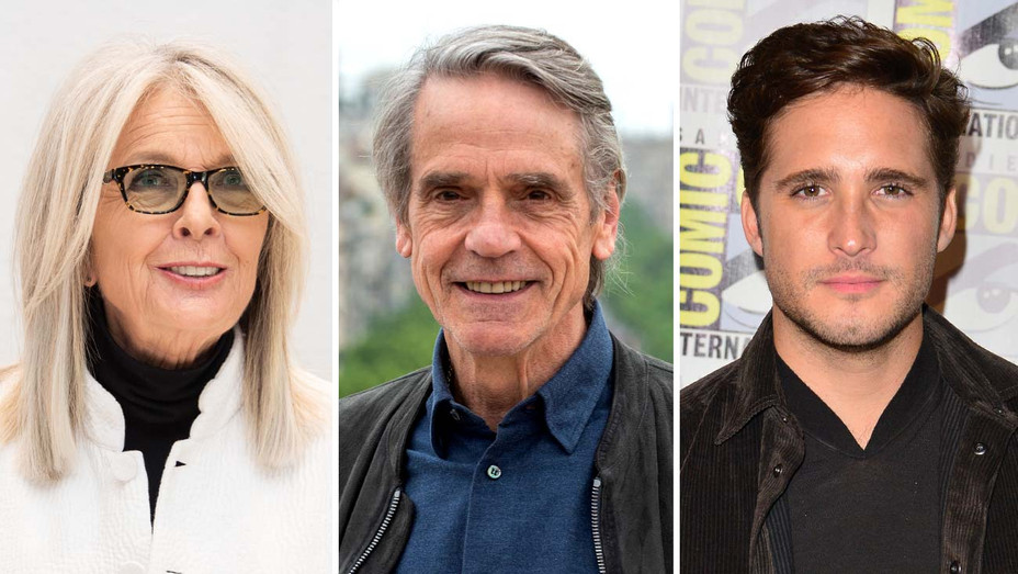 Diane keaton, jeremy irons, diego boneta - Getty - Split - H 2019
