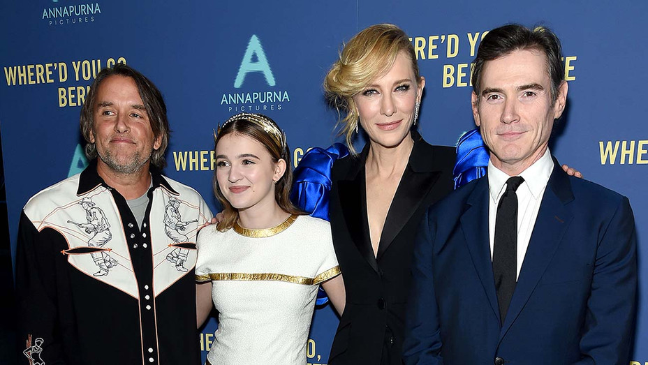 Director Richard Linklater, Emma Nelson,Cate Blanchett and Billy Crudup -Getty-H 2019