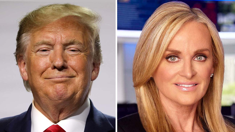 Donald Trump - FOX News CEO Suzanne Scott - Getty - Split - H 2019
