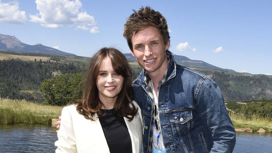 Felicity Jones and Eddie Redmayne - Getty - H 2019