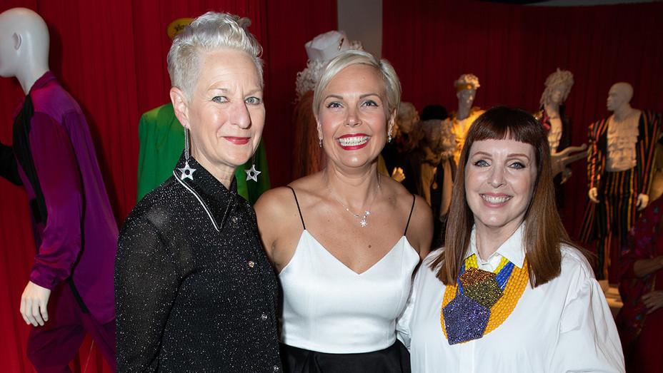 Lou Eyrich, Jennifer Rogien, Cynthia Summers at FIDM ATCD - H Publicity 2019