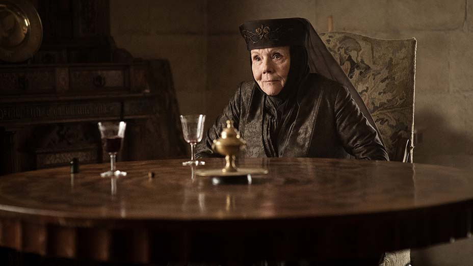 Game of Thrones (HBO) Season 7, 2017 Episode: The Queen's Justice - Diana Rigg (as Olenna Tyrell) - Photofest-EMBED 2019