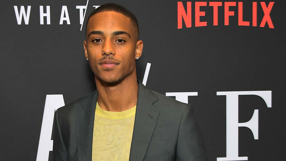 Keith Powers attends Netflix's WHAT IF Special Screening - Getty -H 2019