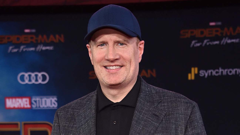 Kevin Feige arrives for the Spider-Man: Far From Home World premiere - Getty-H 2019