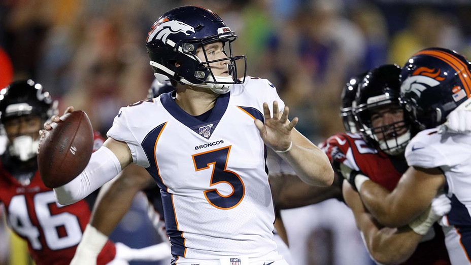 Drew Lock Denver Broncos Atlanta Falcons - Getty - H 2019