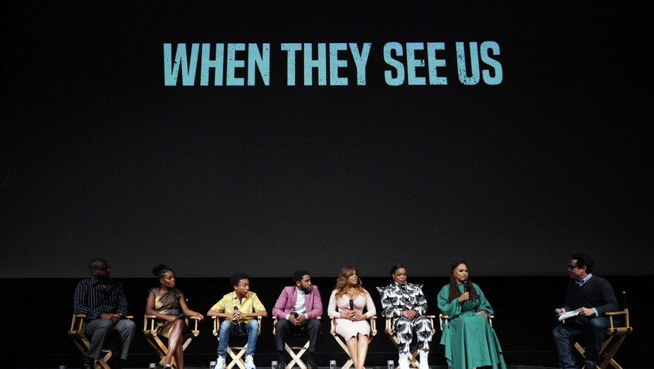 When they See Us Panel - Getty - H 2019