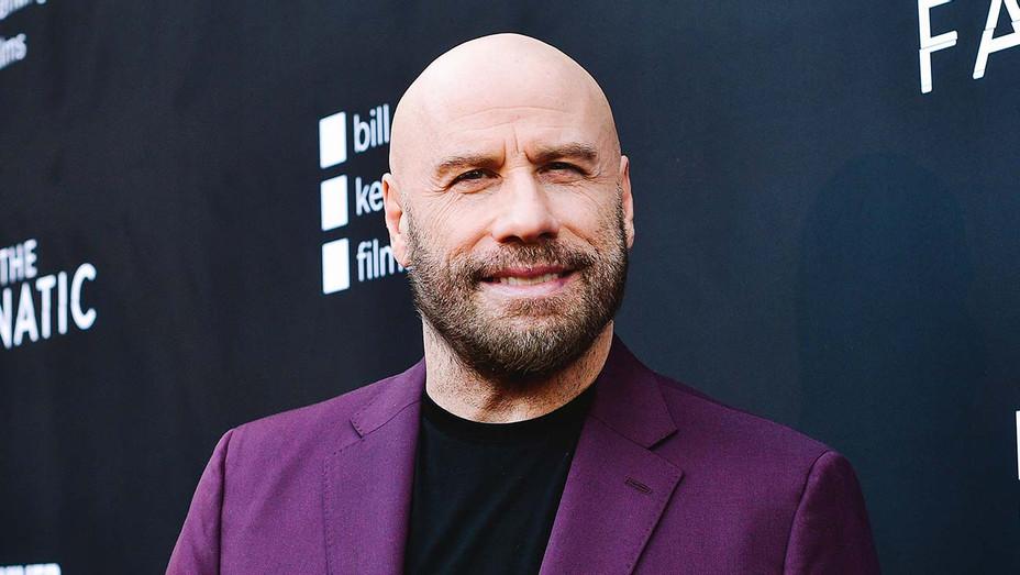 John Travolta attends the premiere of Quiver Distribution's The Fanatic - Getty-H 2019