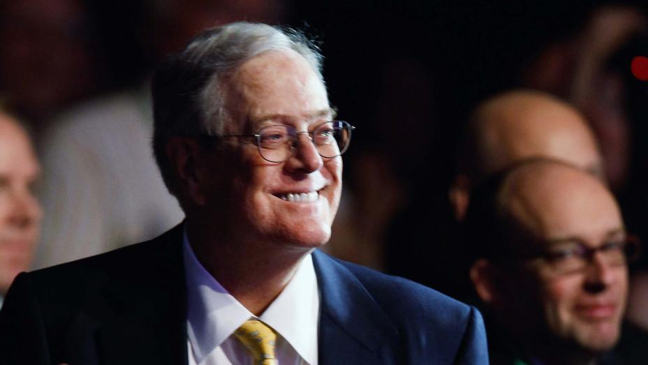 David Koch in 2011 - H Getty 2019