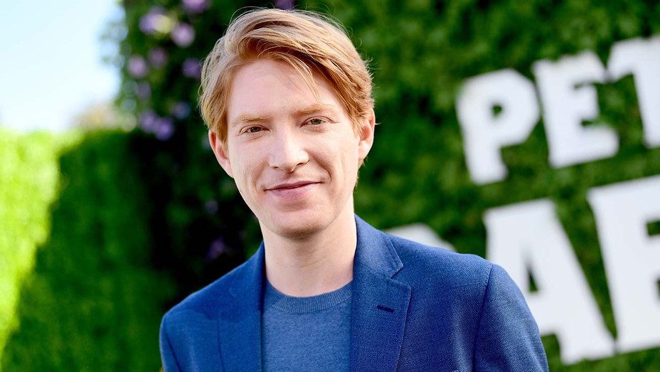 Domhnall Gleeson attends the photo call for Peter Rabbit - Getty-H 2019