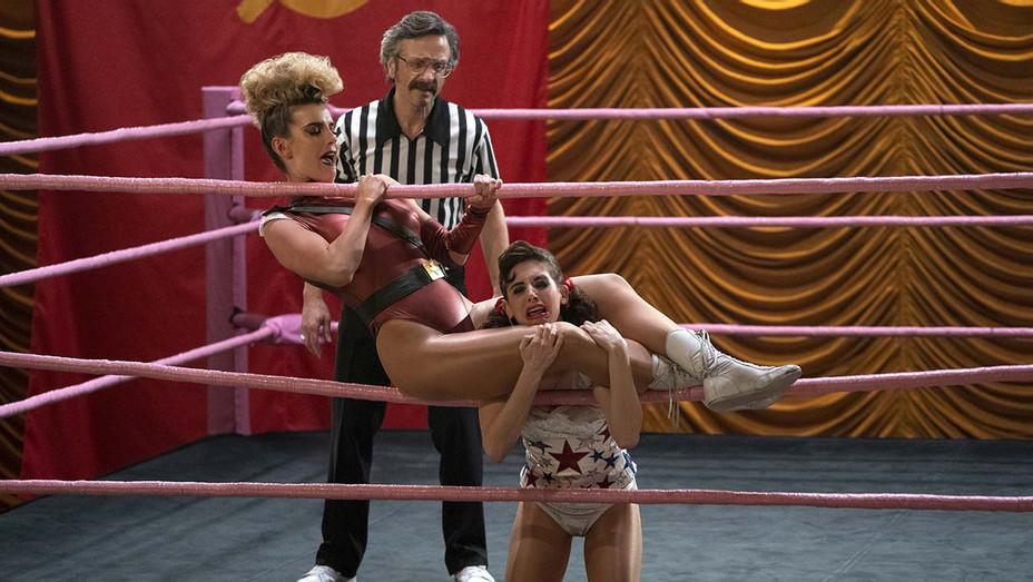 Glow-wrestling match-Publicity Still 1-H 2019