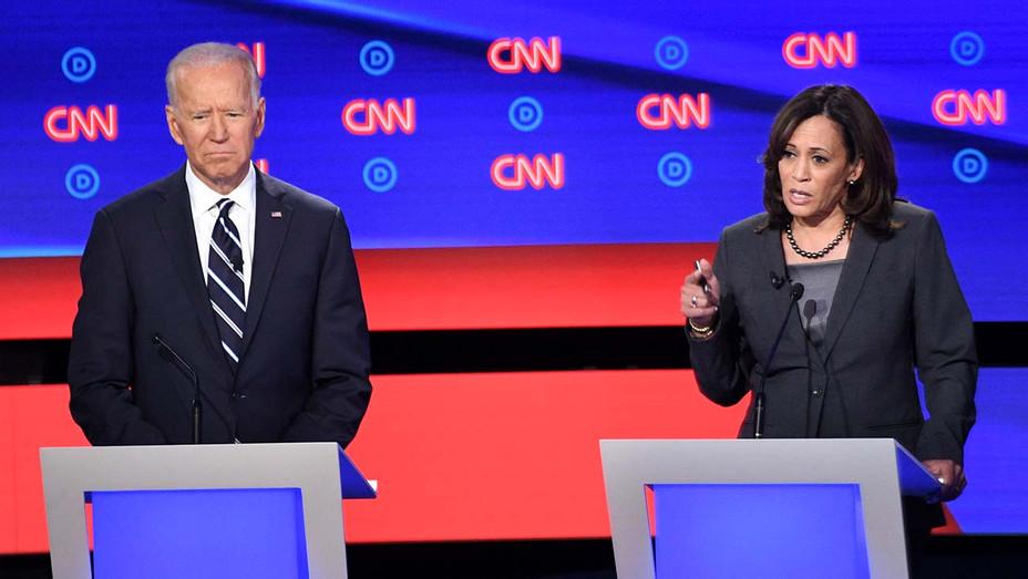 CNN Democratic Debate Round 2 Part 2-Joe Biden-Kamala Harris-Getty-H 2019