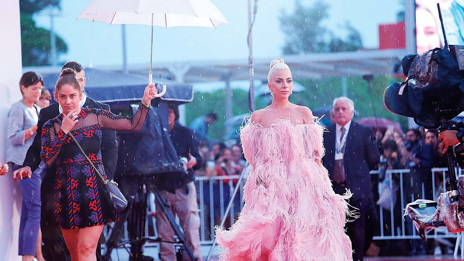 Lady Gaga walks the red carpet ahead of the 'A Star Is Born' screening-Getty-H 2019