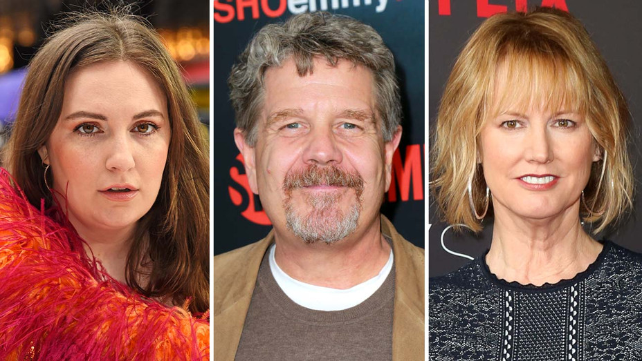 Lena Dunham, John Wells and Melissa Rosenberg -Getty-Split-H 2019