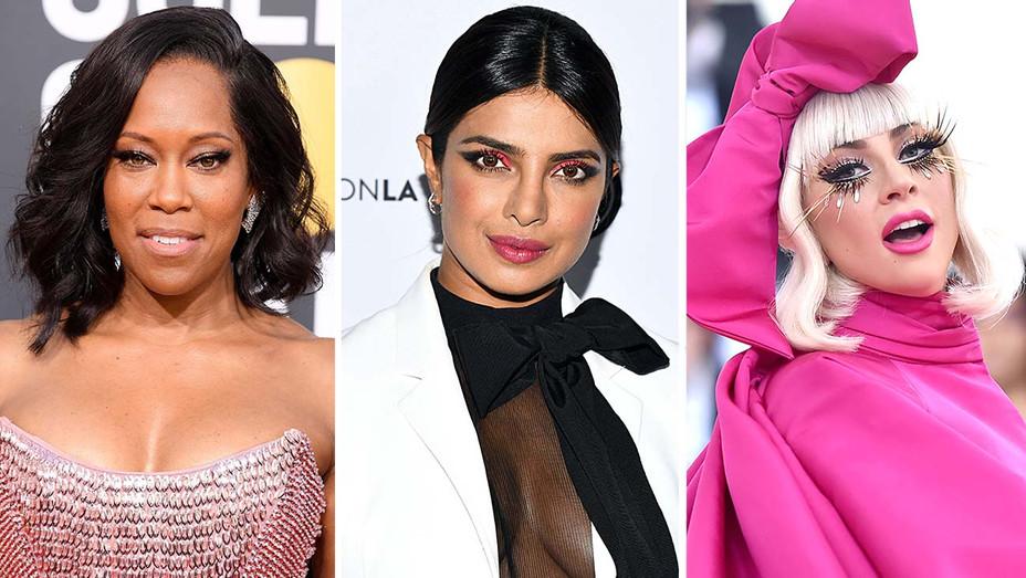Makeup - Regina - Priyanka Chopra- Lady Gaga - Getty-H 2019