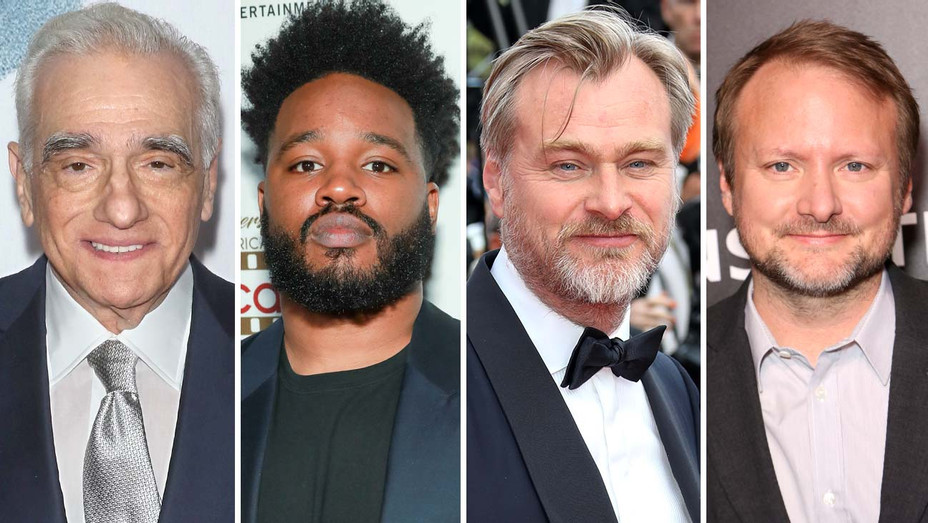 Martin Scorsese, Ryan COOGLER, Christopher Nolan and Rian Johnson - Getty - Split - H 2019