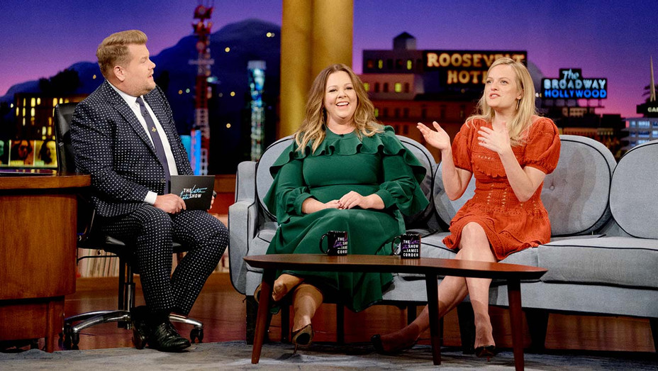 Melissa McCarthy and Elisabeth Moss on The Late Late Show-Publicity Still-H 2019