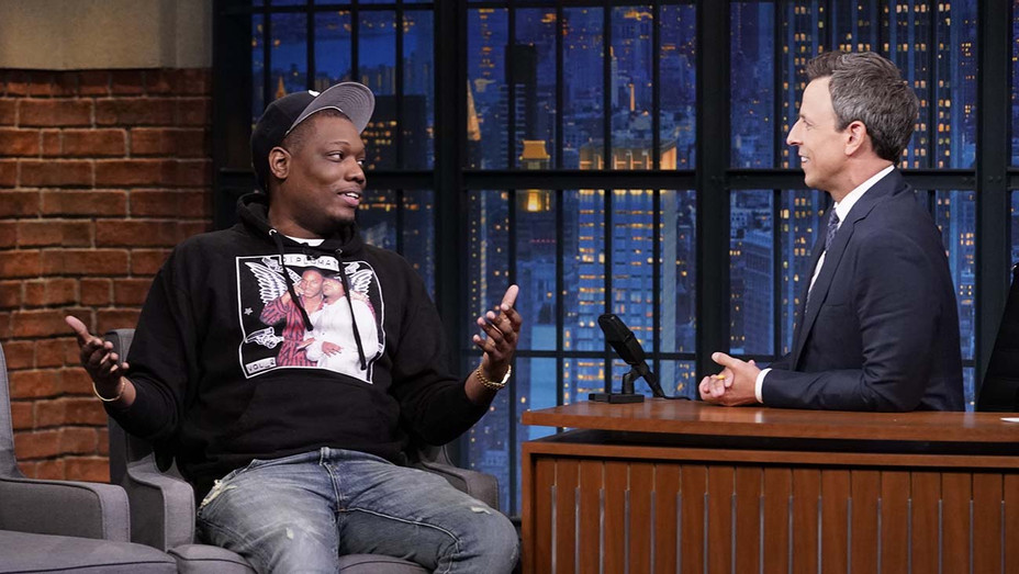 LATE NIGHT WITH SETH MEYERS - Episode 874 Michael Che - Publicity-H 2019