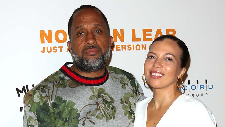 Producer Kenya Barris (L) and his Wife Dr. Rainbow Edwards-Barris -Getty-H 2019