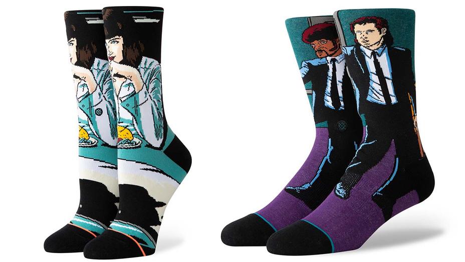 Shop Talk- Stance Socks Collab-Quentin Tarantino Socks-Publicity-Split-H 2019