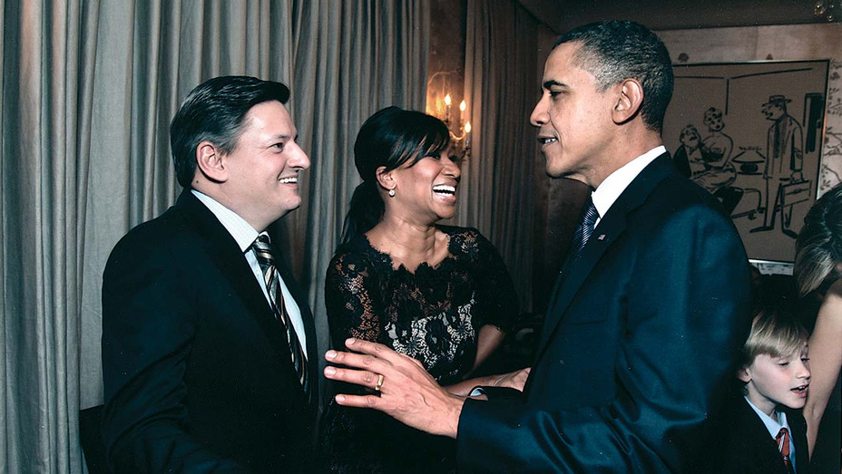 Ted and Nicole greet president Obama - Publicity - H 2019