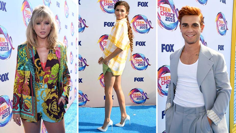 Teen Choice Awards Split Main - Getty - H 2019