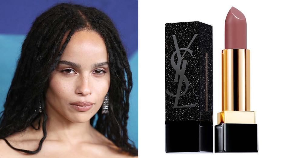 Zoe Kravitz-YSL Beauty-Getty-Publicity-Split-H 2019