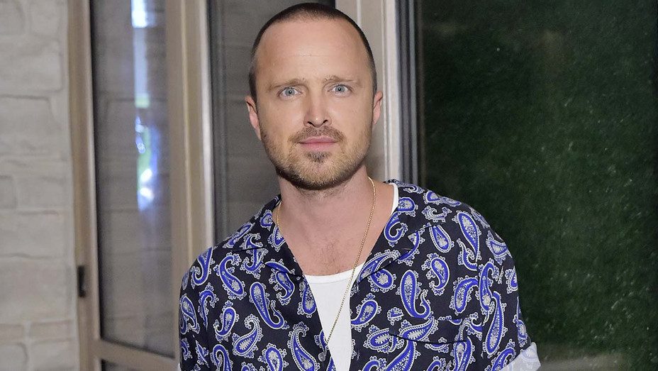 Aaron Paul attends The Hollywood Reporter & SAG-AFTRA 3rd annual Emmy Nominees - Getty-H 2019
