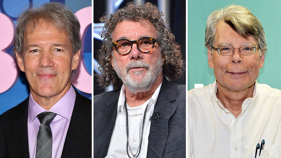 David E. Kelley, Jack Bender and Stephen King-Split-Getty-H 2019