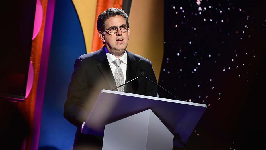 WGA West President David A. Goodman - Getty - H 2019