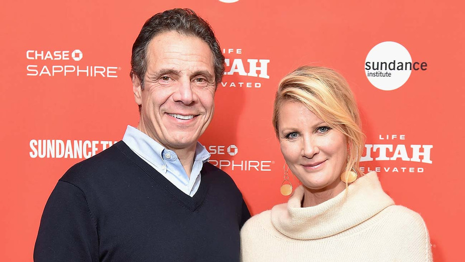 Andrew M. Cuomo and Sandra Lee - Getty - H 2019