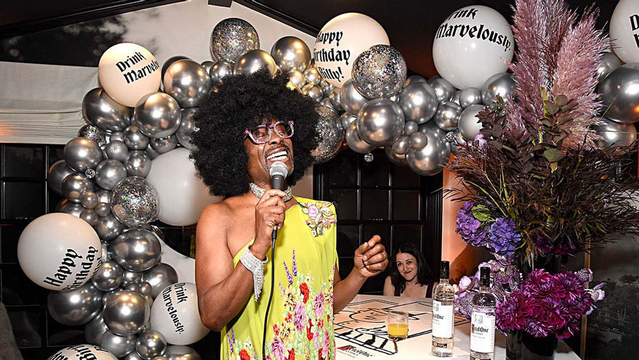Billy Porter celebrates at his Marvelous 50th Birthday - Getty handout- H 2019