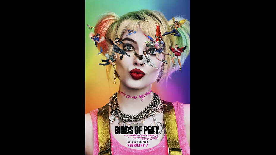 Birds of Prey - Teaser Poster - Publicity - H 2019