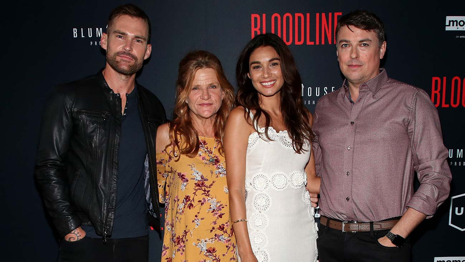 Bloodline Premiere -Seann William Scott, Dale Dickey, Mariela Garriga and Henry Jacobson - Getty - H 2019