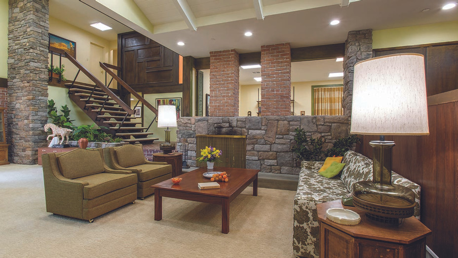 A Very Brady Renovation- The living room after renovations - HGTV Scripps Networks, Publicity-H 2019