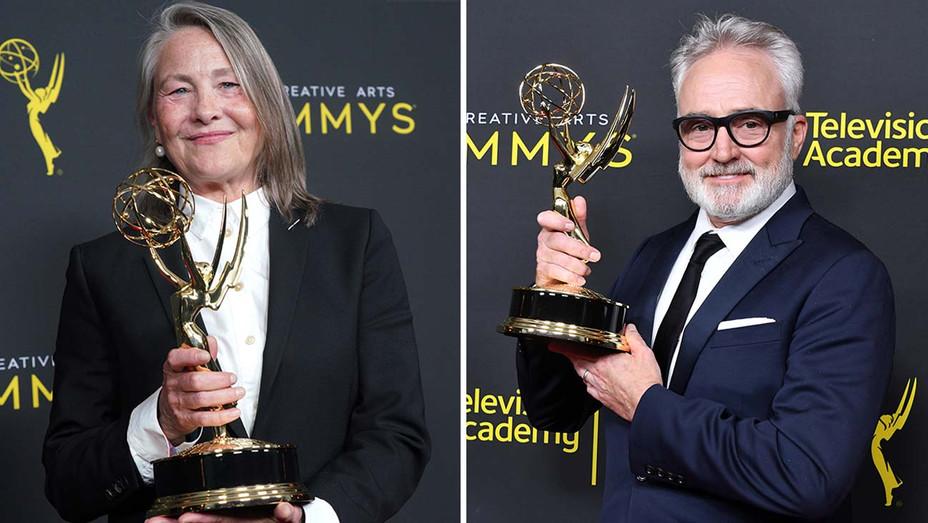 cherry jones and bradley whitford -Emmy's 2019 - Split-Getty-H 2019