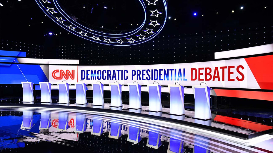 CNN Democratic Presidential Debates -Publicity - H 2019