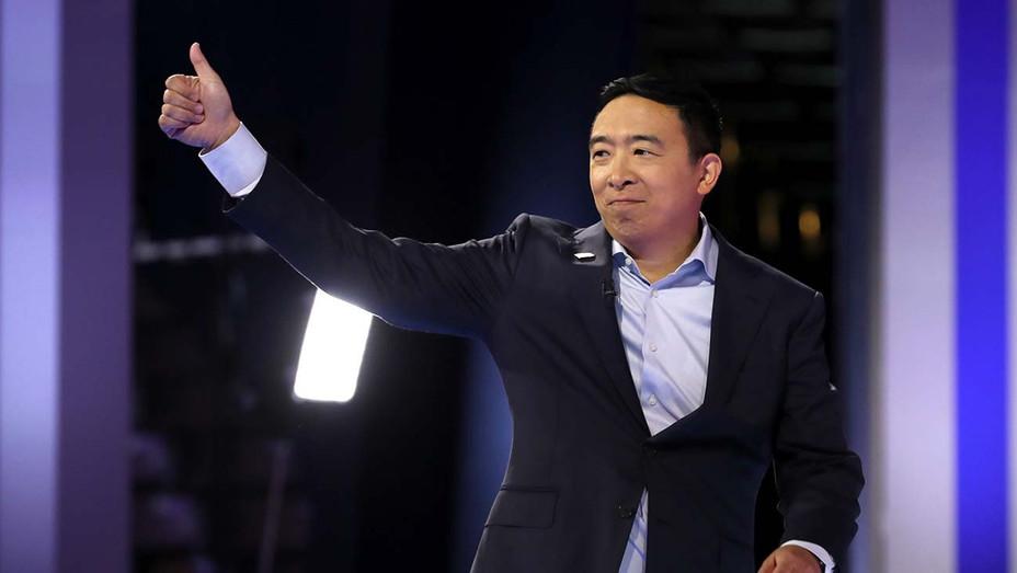 Democratic Debate_9-12_Andrew Yang - Getty - H 2019