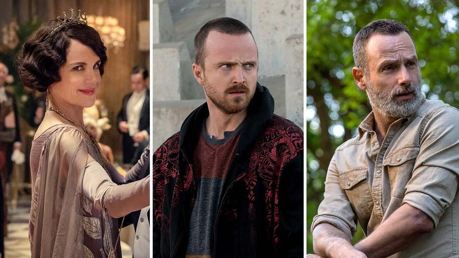 Downton Abbey_Breaking Bad_The Walking Dead_Split - Publicity - H 2019