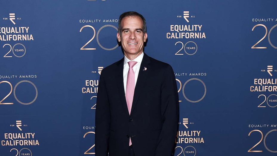 Eric Garcetti at the 2019 Equality California Los Angeles Equality Awards — Getty — H 2019